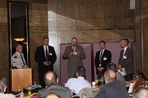 Podiumsdiskussion beim TGA Fachforum Wassermanagement in Kassel<br />