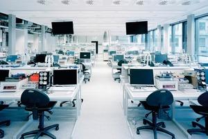 Präsenzmeldereinsatz im Großraumbüro<br />