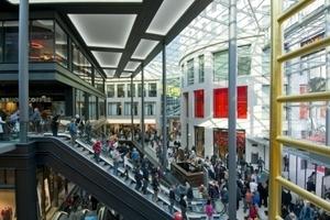 Das Einkaufszentrum verfügt über mehr als 60.000 m2 Nutzfläche