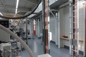 Textiler Quellluftduchlass zur gezielten und zugfreien Einbringung sowie Verteilung der Zuluft