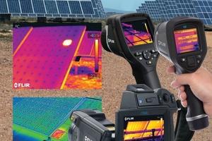 Das ITC bietet am 1. September 2015 um 15:00 h ein einstündiges Grundlagenwebinar zur Inspektion von Photovoltaikanlagen. (Foto: Flir)