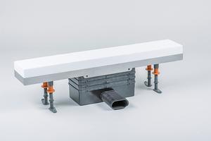 Die Gehäusekonstruktion aus Edelstahl kann mit unterschiedlichen Materialien kombiniert werden: