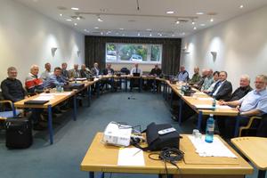 In der internen Sitzung des Arbeitskreises ging es um so unterschiedlichen Themen wie die Anforderungen an Absolventen, TGA-Trends und Normen