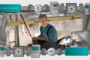 Auf der Internetseite der Kampagne finden sich Informationen zu den wichtigsten Ausbildungsberufen in der Gebäudetechnik.