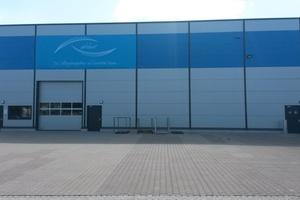 Am Freitag, den 8. Mai 2015, weihte die Airleben-Gruppe ihre neue Lager- und Produktionshalle in Leipzig ein. (Foto: Airleben)