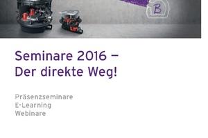 Das Kessel-Seminarprogramm für 2016 steht.