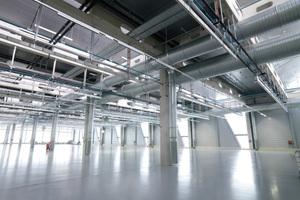 In Kaufbeuren steht das größte Werk der Hawe Hydraulik: Auf insgesamt 145.000 m² bieten vier Hallen Produktionsflächen von über 30.000 m².