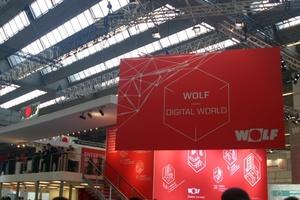 Die Digitalisierung der Heiztechnik stand u.a. bei der Wolf GmbH und ...