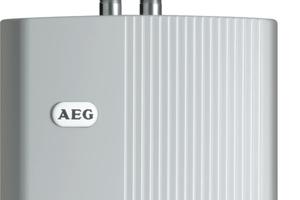 Bei den neuen 6,5 kW-Klein-Durchlauferhitzern von AEG Haustechnik bietet der Direktanschluss besondere Vorteile, weil dieser mit einer 16 A-Absicherung über zwei Phasen erfolgen kann