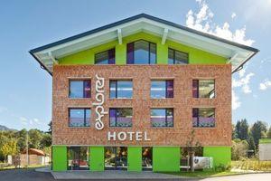 Passivhausstandard und modernes Design – das Explorer Hotel ist in jeder Hinsicht zukunftsweisend  (Foto: Explorer Hotel Oberstdorf)