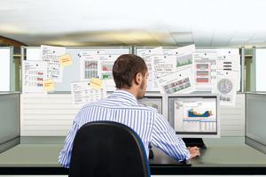 """Mit dem Softwarepaket """"Energiemanagement"""" von Kieback&amp;Peter behält man den Überblick über den Energieverbrauch seines Gebäudes<br />"""
