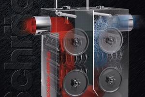 Der AWT aus dem Hause Schräder wandelt Abgaswärme in nutzbare Energie um, geeignet ist er für den Einsatzbereich bis zu 2500 kW Feuerungsleistung