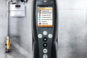 """Das """"testo 324"""" ist ein Allround-Messgerät für den Einsatz an Gas- und Wasserleitungen"""