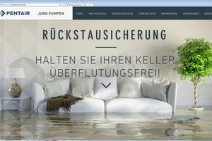 Die Webseite www.rueckstausicherung.net informiert umfassend über das Thema Rückstausicherung.
