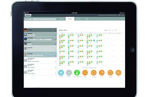 Mit dem Smart-Cloud-System hat der Anwender mittels Smartphone oder ...