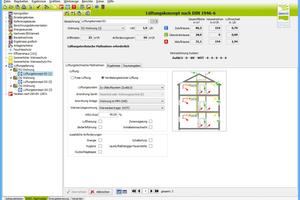 … bis hin zu produktneutralen Lüftungskonzept-Planungsmodulen als (optionaler) Bestandteil von EnEV-Programmen.