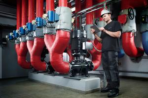 In fünf Portfolios hat Grundfos seine Dienstleistungen unter Service & Solutions gebündelt.