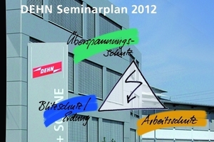 Der Seminarplan von Dehn + Söhne für das Jahr 2012