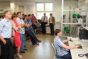 Offizielle Inbetriebnahme des Versuchstandes an der Hochschule für Technik und Wirtschaft Dresden