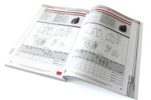 Jedes Kapitel beinhaltet eine eigene Übersichtstabelle der jeweiligen Produkte