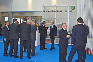 BTGA-Forum für Immobilien, Energie und Technik (BTGA-Immobilienforum) während der ISH 2013.
