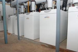 Mit einer Gesamtleistung von knapp drei MW entstand so die bisher leistungsstärkste Brötje-Anlage.
