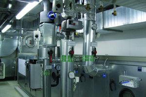 Blick auf eine der RLT-Anlagen