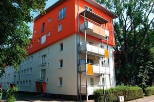 Durch die Sanierung wurde ein hochwertiger Wohnraum in Stadtnähe geschaffen<br />