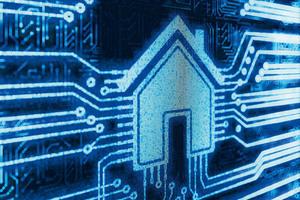 """Dem vernetzten Wohnhaus, dem """"Smart Home"""", wird eine große Zukunft vorausgesagt<br />"""