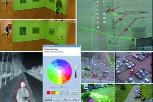 """Die Farbfilterfunktionen der """"Intelligenten Video Analysis Software"""" (IVA <strong>3.5</strong>) von Bosch Sicherheitssysteme erlauben es, die Objektfarbe oder sogar eine Kombination von Farben als Erkennungskriterium anzugeben"""