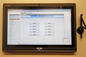 Daten können aus der Ferne und am Monitor im Heizungskeller abgerufen werden.