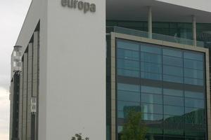 Das Kap Europa ist das neue Kongresszentrum der Messe Frankfurt und ...<br />