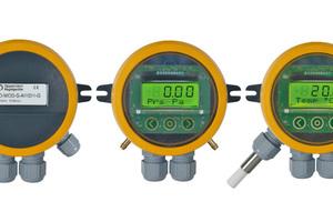 """I/O-Module, Enthalpie- und absolute Feuchte-, sowie Volumenstrom-Differenzdruck-Transmitter erweitern das """"OPP-Sens""""-Portfolio."""