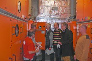 Bis zu zwölf Mitarbeiter von Menerga sorgten dafür, dass die Geräte in Rekordzeit wieder in Betrieb gehen konnten.<br />