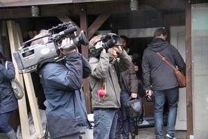 Großes Medieninteresse beim Richtfest<br />
