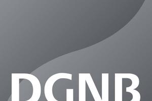 Das DGNB-Auszeichnungslogo in Platin<br />
