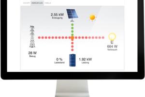 """Die aktuelle Firmware des """"Solar-Log""""-Systems"""