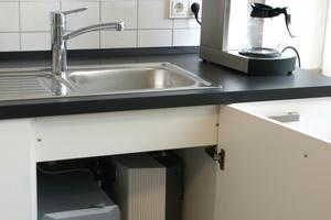 """Die Untertischgeräte """"HUZ 5 ÖKO Comfort"""" in allen Teeküchen verfügen über die """"Thermo-Stop""""-Technologie"""