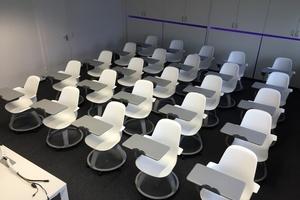 Aus- und Weiterbildung auf dem neusten Stand der Technik, das bietet das modern ausgestattete Kundenforum der Kessel AG in Österreich.  (Foto: Kessel AG)