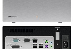 """Der """"Gira HomeServer 4"""" ist der Bordcomputer für das """"intelligente"""" Haus: Als Schnittstelle zwischen moderner Elektroinstallation und Computernetzwerk steuert er alle Komponenten der Haustechnik, die über das KNX/EIB-System miteinander vernetzt sind, und bietet die Möglichkeit, weitere Technologien in die Haussteuerung zu integrieren<br /><br />"""