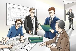 Die TGA hat eine technische Komplexität und Verzahnung erreicht, die eine enge und frühzeitige Zusammenarbeit von Architekt und TGA-Ingenieur erfordert.<br />