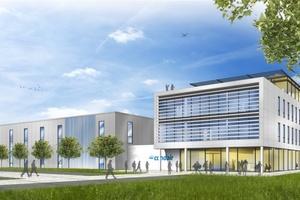 So soll das Gebäude nach seiner Fertigstellung aussehen.
