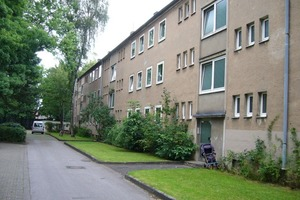 Häuser der Siedlung vor der Sanierung<br />