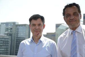 Dr. Markus Beukenberg (links) und Uwe Großmann