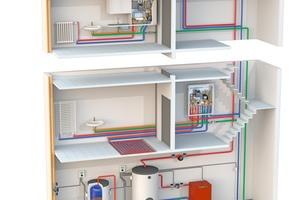 Mit den kompakten SATK Wärmeübergabestationen von Caleffi kann bedarfsgerecht, und damit effizient, Heizungswärme (für Radiatoren und Fußbodenheizung) bereitgestellt und Trinkwasser erwärmt werden.