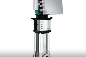 """Die neuen Modelle der Hochdruckkreiselpumpen-Baureihe """"Wilo-Helix Excel"""" erreichen Motorwirkungsgrade, die über die Grenzwerte der für die Zukunft vorgesehenen und dann besten Effizienzklasse IE4 (gemäß IEC TS 60034-31 Ed.1) hinausgehen<br />"""