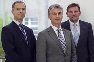 Drei der neuen BWP-Vorstandsmitglieder (v.l.n.r.): Klaus Ackermann (Nibe), Xavier Feys (Daikin) und Dr. Frank Schmidt (Viessmann)