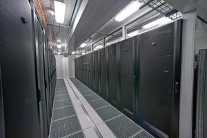 Blick in das Innere der Datacenter-Container