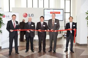 Einweihung der Klima-Akademie von LG Electronics in Ratingen