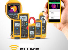 """Messgeräte für das """"Fluke-Connect""""-System"""